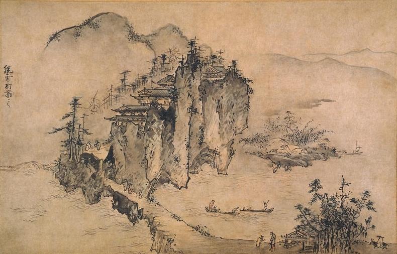 Le Zen Et La Peinture De Lépoque Muromachi Culture Japonaise